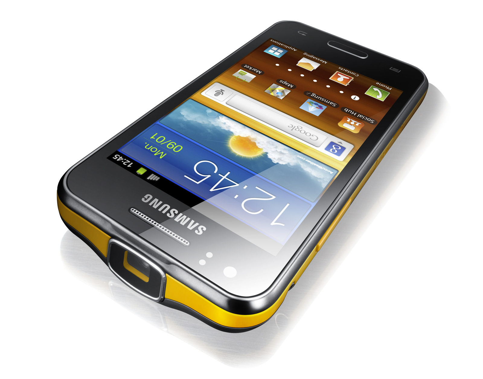 samsung galaxy beam android 2 3 plus a portable