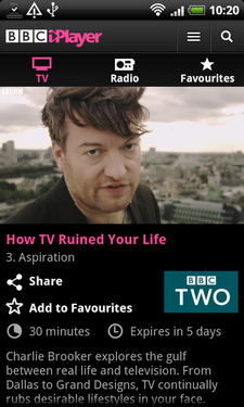 android iplayer app 3