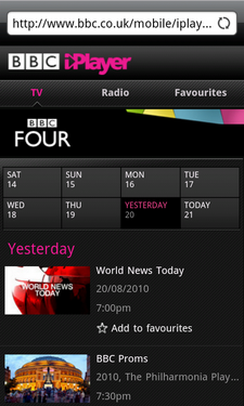 android iplayer review 4