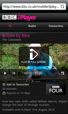 android iplayer review 5