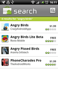 angry birds android launch 1