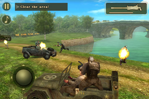 My favorite action shooting game Brothers in Arms 2