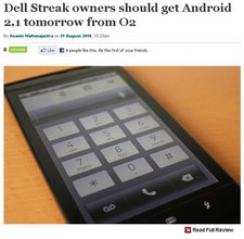 dell streak )2 update