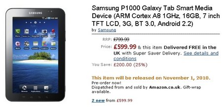 galaxy tab amazon