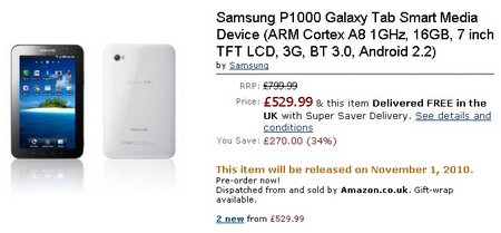 galaxy tab uk amazon