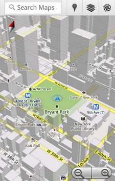 google maps 5 android 2
