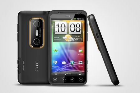 HTC EVO 3D europe july