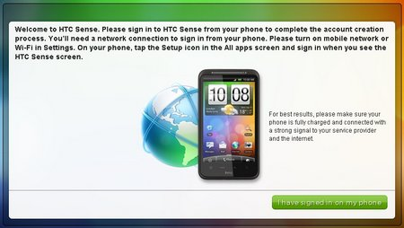 htc sense web site