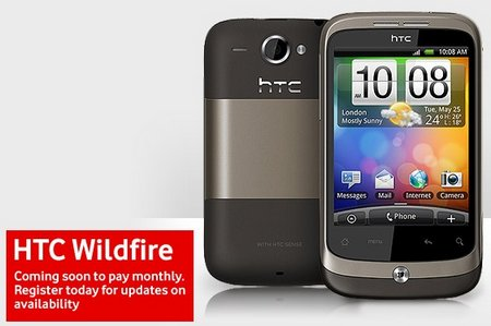 HTC Wild fire comming soon