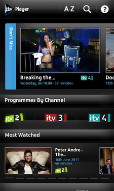 itv player android 1
