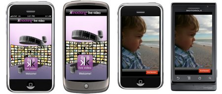 knocking live android iphone video streaming