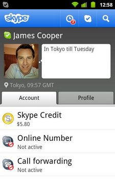 skype video android 1