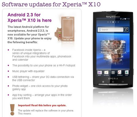 x10 android 23 update live