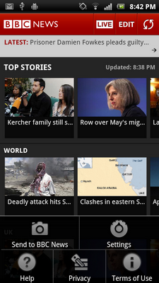 bbc news app widgets 3